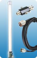 OMNI 8dBi 2.4G + Lightning Protector + RTNC3m/10ft