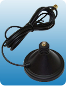 Rubber Maga Base with 5Ft Cable (without antennas)