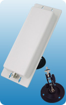 2.4GHz  Panel 12dbi Antenna with 360 Degree Swivel Stand