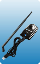 WIFI-Link Warrior 1000mW 802.11b/g/n WLAN USB adapter+7 dbi dipole